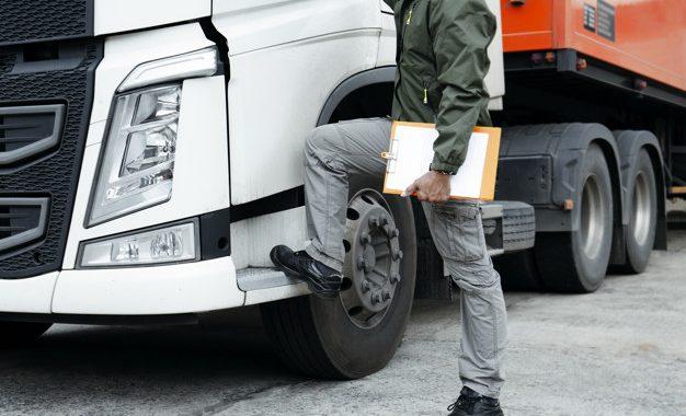 Chauffeur de camion